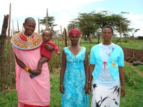Beckons Yoga Clothing Donated to Kenyan tribe