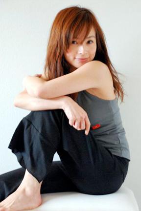 Shigeko in Beckons Yoga Clothing