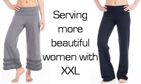 Beckon Yoga Clothing adding plus size yoga pants to collection