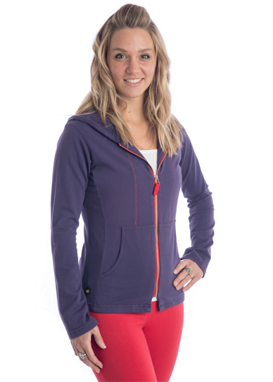 Beckons Yoga Clothing Zippered Hoodie